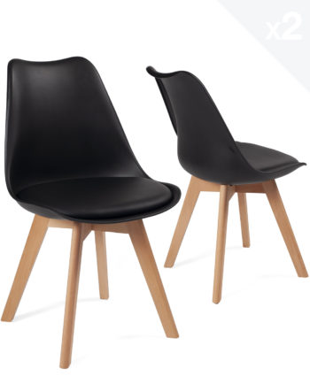 lot-2-chaises-scandinave-coussin-pas-cher-lao-noir