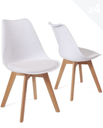 lot-4-chaises-scandinave-coussin-pas-cher-lao-blanc