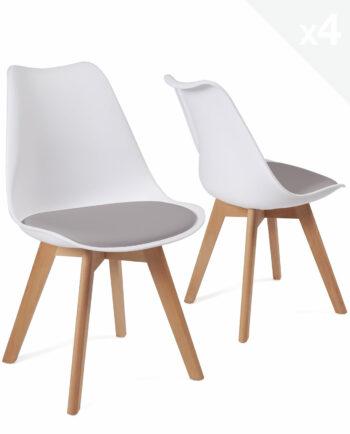 lot-4-chaises-scandinave-coussin-pas-cher-lao-blanc-gris
