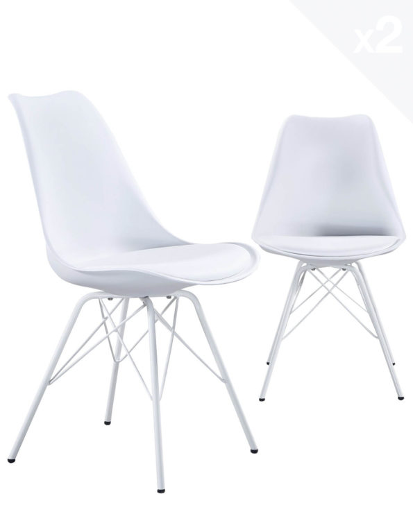 step-chaise-design-metal-rembourree-blanc