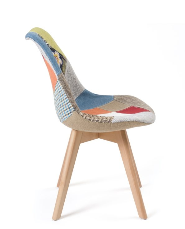 chaise patchwork tulip - LAO KAyelles - Chaises scandinaves salle à manger