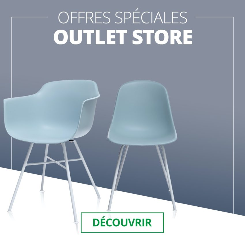 Destockage chaises design - Promos tabourets de bar - Kayelles