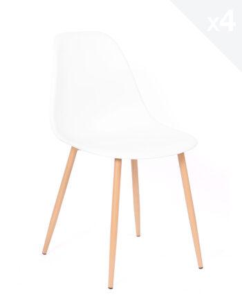 lot-4-chaises-scandinaves-Nova-cuisine-salle-manger-blanc-2