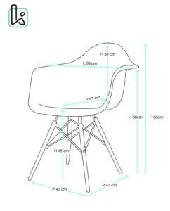 nepal-lot-de-2-chaises-transparent-DAW-taille