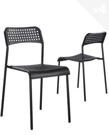 chaise-empilable-ECHO-noir-metal-plastique