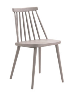Chaise bistrot windsor Kayelles - cuisine - gris