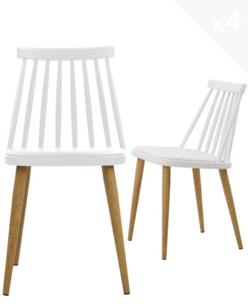 lot-4-chaises-windsor-MODA-scandinave-coussin-blanc