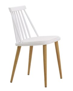 Chaise Windsor scandinave - kayelles - blanc