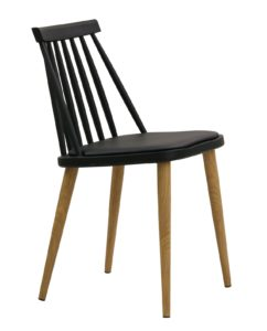 Chaise Windsor scandinave - kayelles - noir