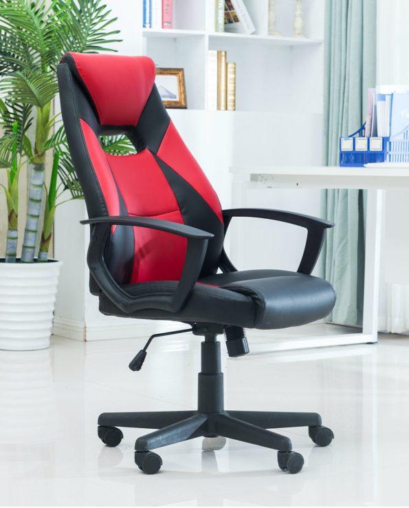 chaise-de-bureau-racing-rouge-Kayelles-lota
