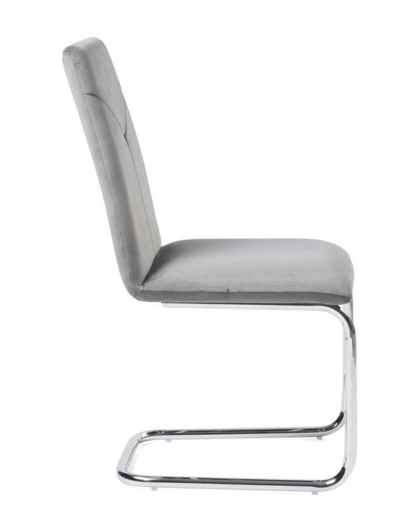 chaises-salle-a-manger-haute-velour-gris-kayelles