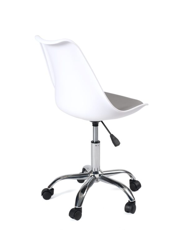 chaise-bureau-pas-cher-blanc-gris-kayelles