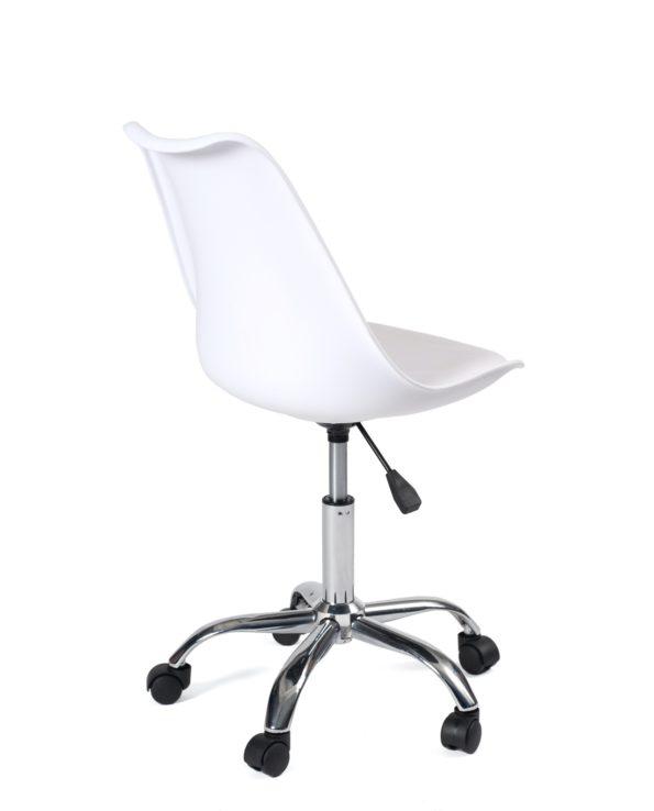 chaise-bureau-pas-cher-blanc-kayelles