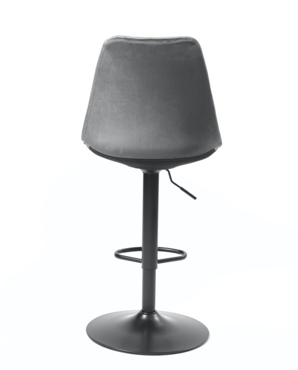 chaises-de-bar-velours-gris-SOSA-design-gris