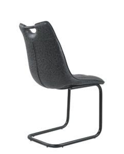 chaises-design-salle-a-manger-cuir-vieilli-lot-de-4-POSH-noir