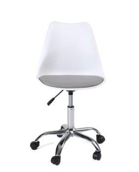 siege-bureau-design-roulettes-pas-cher-blanc-gris-leo
