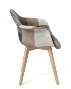 lot-2-fauteuils-scandinaves-patchwork-DAW-marron-kayelles