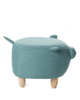 Pouf-enfant-Cochon-chanceux-tabouert-ottoman-Bois-BOB-vert