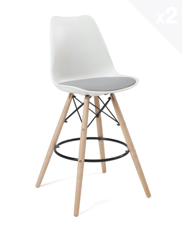 chaise-bar-scandinave-coussin-blanc-gris