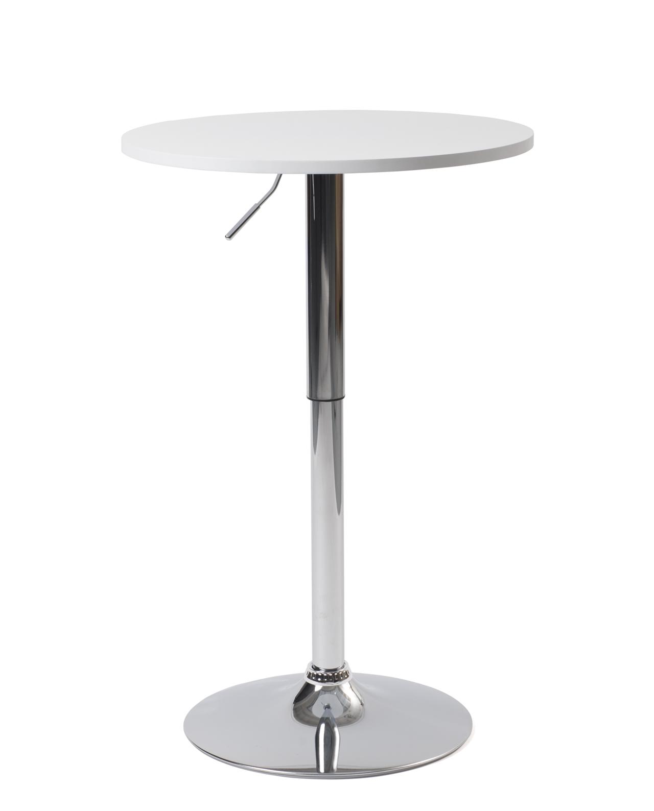 Mange Debout Table De Bar O60cm Seti Blanc Ou Noir Kayelles Com