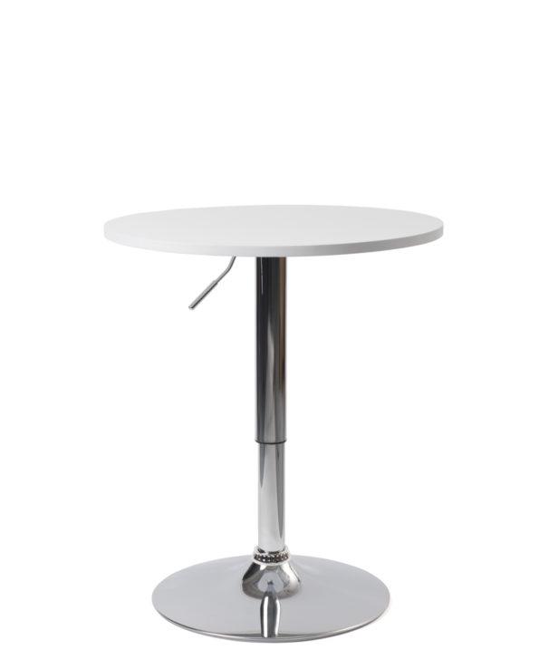 Mange debout réglable en hauteur - table de bar Blanche Kayelles SETI