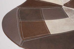 chaise-haute-patchwork-marron