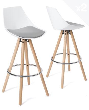 tabouret-de-bar-design-bois-blanc-gris-coussin-kayelles-soto
