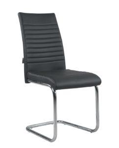 chaise-salle-manger-lot-4-design-OPUS-Noir