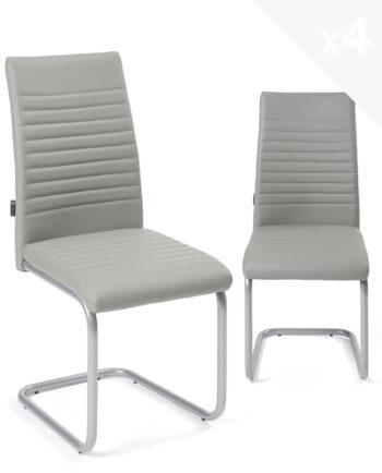 chaises-salle-manger-lot-4-OPUS-gris-epoxy