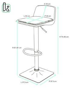 chaise-bar-design-cuisine-coussin-amovible-reglable-boba