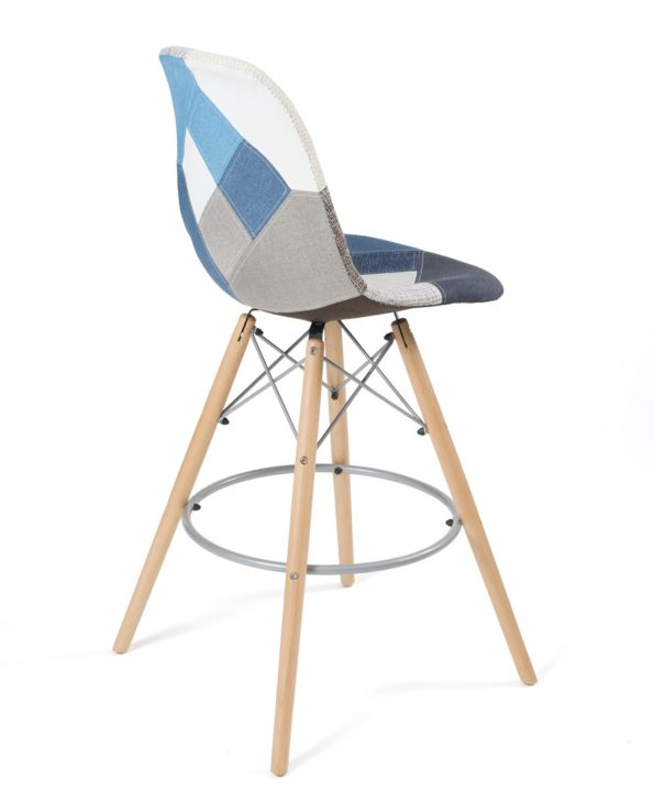 chaise-bar-patchwork-bleu-scandinave-sleo-kayelles