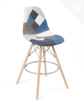 lot-de-2-tabourets-bar-patchwork-bleu-scandinave-SLEO-kayelles