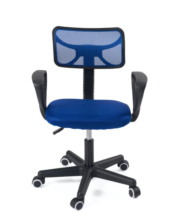 Chaise de bureau ado, enfant, junior, pas cher - Bleu