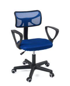 Chaise de bureau enfant - siège ergonomique junior - etudiant - LAB - Kayelles - Bleu