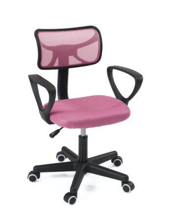 Chaise de bureau enfant - siège ergonomique junior - etudiant - LAB - Kayelles - Rose