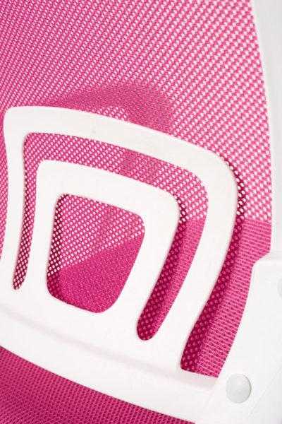 chaise-bureau-ergonomique-rose-blanc-flag-kayelles