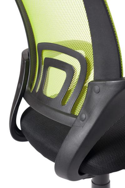 chaise-bureau-ergonomique-vert-noir-kayelles