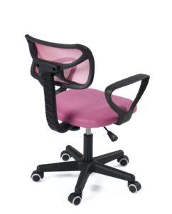 Chaise de bureau enfant pas cher - Ergonomique, ordinateur - Kayelles, Rose