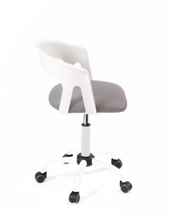 chaise-fauteuil-bureau-pas-cher-accoudoirs-réglable-kayelles-blanc-gris-mesh