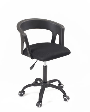chaise-fauteuil-bureau-roulettes-accoudoirs-réglable-kayelles-noir-mesh