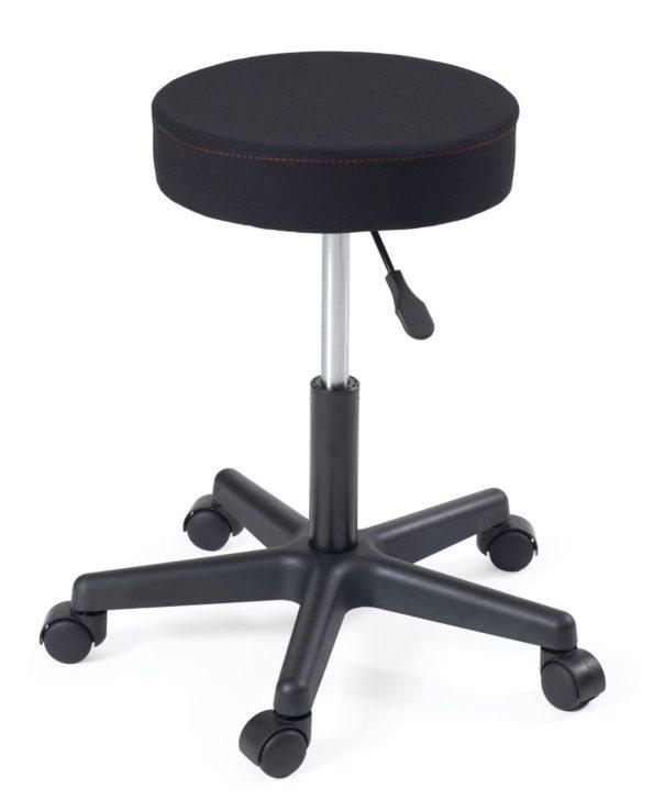 tabouret-maison-bureau-bricolage-pivotant-360-reglable-hauteur-pas-cher-tissu-noir