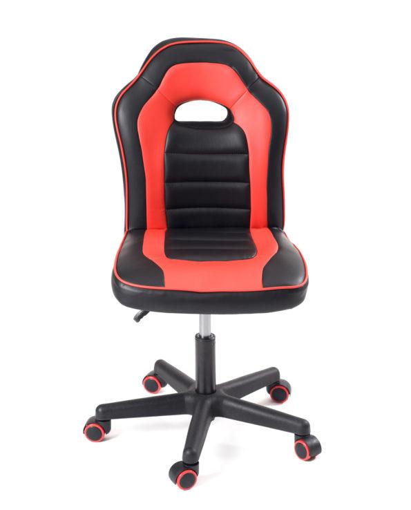 Chaise racing bureau enfant, junior - Kayelles - Games, ordinateur - Noir et rouge