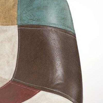 chaises-daw-patchwork-marron-pas-cher