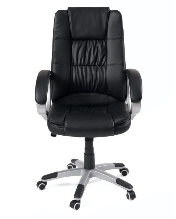 Fauteuil de bureau, chaise ordinateur ergonomique, reglable - noir - kayelles