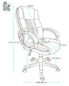 fauteuil-bureau-design-confort-ergonomique-bora-tailles-kayelles