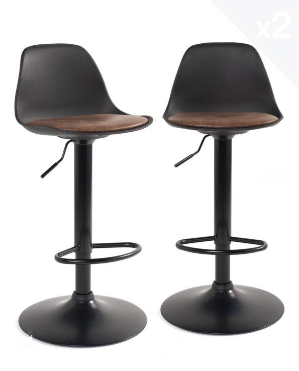 lot-tabourets-bar-design-chaises-hautes-cuisine-sig-noir-marron
