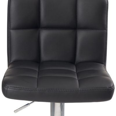 chaise-bar-matelassee-design-confort-similicuir-noir