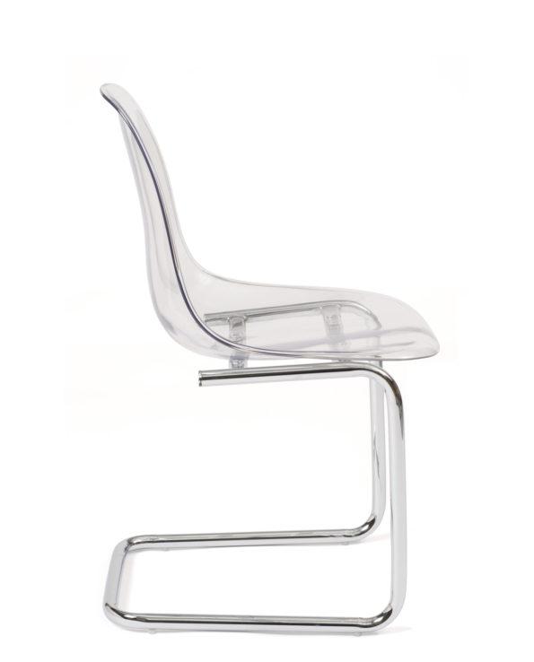 chaise-design-salle-manger-transparent-chrome-kayelles-meo