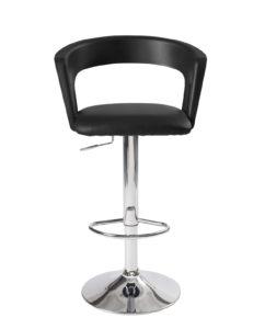 chaise haute de Bar - cuisine - Ergonomique, noir