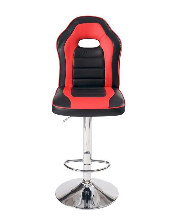 chaise-haute-bar-racing-siege-baquet-BENI-noir-rouge
